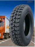 Le camion commercial fatigue le pneu radial 11.00r22.5 de camion avec le POINT
