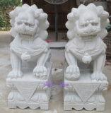Scultura di scultura di marmo di pietra naturale del giardino intagliata statua per la decorazione