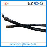 Mangueira de borracha trançada de alta pressão do fio de aço de Yinli R1