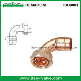 ANSI B16.22 Quality Copper U Fitting met Brass GLB /Copper Connector (AV8009)