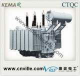 transformadores de potência do Dobro-Enrolamento de 25mva 66kv com o cambiador de torneira da em-Carga