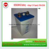 acumulador alcalino Ni-CD de 1.2V 250ah para UPS, ferrocarril, subestación