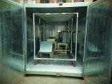 Forno elétrico industrial do revestimento do pó