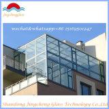 Isolar/estrutural/moderou/edifício/vidro da segurança