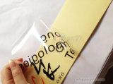 Die Cut Clear Paper Rolls Impressão em PVC com adesivo personalizado