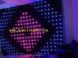 Cortina de luz LED LED de visión Cortina RGB Vídeo Cloth LED Dance Floor