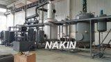 Petróleo de motor novo do preto do projeto do sistema do PLC que recicl a máquina
