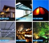Solar-des LED-kampierendes Licht-0.5W LED Solar-LED Flut-Licht Taschenlampe USB-des Anschluss-