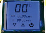 Метр 8X2 индикации Tn LCD электронный