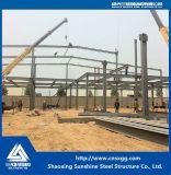 Blocco per grafici leggero prefabbricato della struttura d'acciaio con la trave di acciaio per la costruzione del magazzino