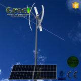 Sistema híbrido del viento solar para el uso del hogar y de la granja
