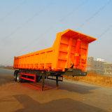 Vervaardiging sinds 2007 2 Aanhangwagen van de As/van de Kipper van de Voeten van Assen 20FT/