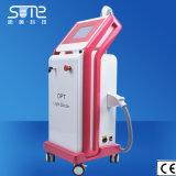 Opt a pele da tecnologia de Shr aperta a máquina da remoção do cabelo do IPL do equipamento do RF