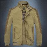 남자의 옷을%s 중간 작풍 면 대 고리 재킷
