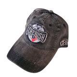 Бейсбольная кепка джинсовой ткани способа тяжелая помытая с взглядом Gjwd1761 Grunge