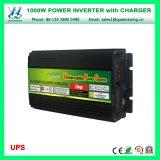 Инвертор силы UPS 1000W с заряжателем батареи (QW-M1000UPS)