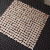 Конструкция плиток мозаики золота высокого качества стеклянная для украшения стены