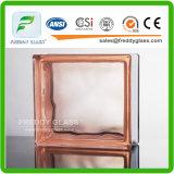 het 190*190*80mm Gekleurde Blok van het Glas/het Blok van het Eind/de Baksteen van het Glas/het Blok van de Schouder/het Decoratieve Blok van het Glas