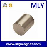 네오디뮴 자석 축으로 자력을 띠게 한 실린더 (MLY104)