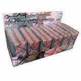 Tissus estampés de cadre personnalisés par tissus de papier de ménage de tissu facial