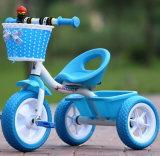 Mehrfarbenkind-Dreirad-/der Dreiradkind-/drei Rad Fahrrad