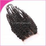 브라질 Virgin 머리 도매 바디 파 레이스 마감