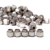 O cabo reforçado do diamante do ferro de molde viu com os grânulos aglomerados diâmetro de 10.5mm