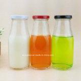 250ml, 500ml, frascos de vidro do suco da bebida do leite 1000ml