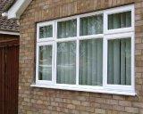 Schwingen geöffnetes Belüftung-Flügelfenster-Glasfenster mit ab Werk Preis (PCW-013)