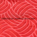 Tessuto impresso di Microfiber rifinito pelle della pesca per assestamento