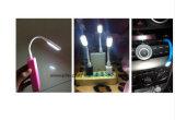Indicatore luminoso del USB LED per la lampada flessibile della Banca LED di potere per tutte le unità del USB