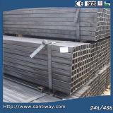 Tubulação de aço soldada quadrado (padrão das BS)