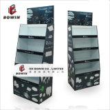 Présentoir recyclable de carton d'étalages d'étage pour l'étalage de papier de fileur de personne remuante