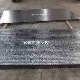 Chrom-Karbid-Oberflächenbearbeitung-Abnützung-Platten-Hersteller 8+6