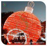 Lumière de motif de forme de boule de sphère de LED 3D pour la décoration extérieure
