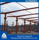 Struttura di tetto d'acciaio, costruzione d'acciaio, blocco per grafici d'acciaio