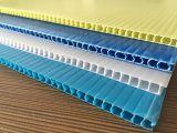 Лист PP высокого качества полый (пусковые площадки) слоя PP стеклянных бутылок PP 3mm 4mm 5mm