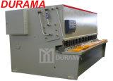 QC12y Serien-hydraulischer Metallplattenschwingen-Träger-scherende Maschine (mit rückseitigen Anzeigeinstrument-Längen-Zunahmen)