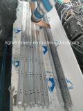 Machine automatique de réseau du plafond T avec le cadre d'engrenage à vis sans fin