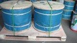 Вьюрок упаковал гальванизированную веревочку стального провода для подниматься