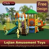 En1176 caçoa o campo de jogos plástico ao ar livre do parque de diversões (12037A)