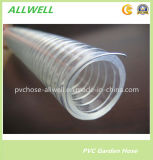 """PVC-Plastikstahldraht-Saugschlauch-Wasser-Sprung-Schlauchleitung 4 """""""