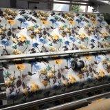 100%Polyesterによって印刷されるビロードのソファーファブリック(PR022)