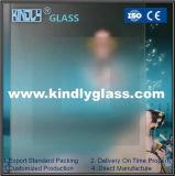 酸はガラス、スモークガラス、建物のための曇らされたガラスをエッチングした