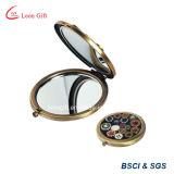 Изготовленный на заказ бронзовое классическое зеркало косметик тщеты состава он-лайн