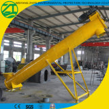 Transportband van de Schroef van het Type van Vlucht van de Schroef van het roestvrij staal de Flexibele Verticale