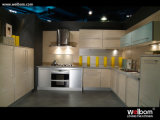 Armadio da cucina 2017 moderno della scheda della melammina di Welbom con l'isola