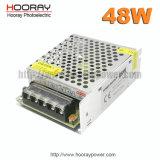 universale del CCTV di 48W 12V 24V alimentazione 1.67 l'alimentazione elettrica industriale di 4.17A 2.08A con Ce 50W