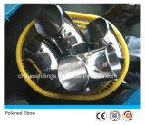Coude Polished de catégorie comestible d'ajustage de précision de pipe sanitaire d'acier inoxydable
