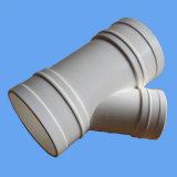 Tubería de PVC Montaje Tee Withe OEM / ODM Fabricación